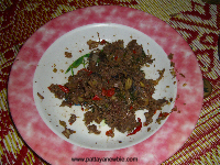 Thai food - frog