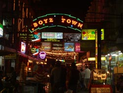 Pattaya bars Boyz Town